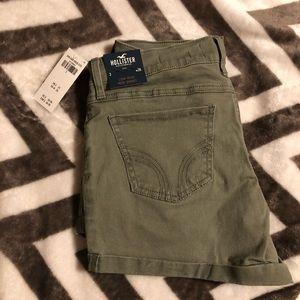 Low - Rise Midi Shorts
